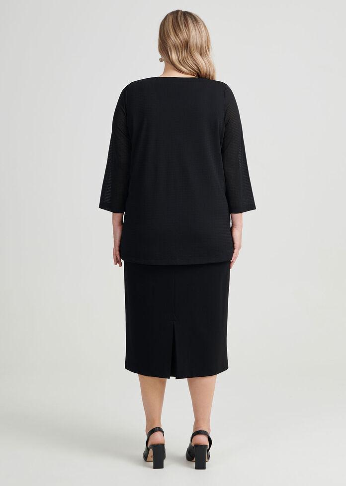 Debra Textured Knit Top, , hi-res