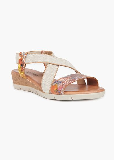 Marbella Leather Sandal