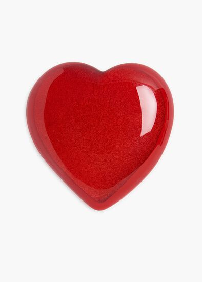 Fire Up Heart Brooch
