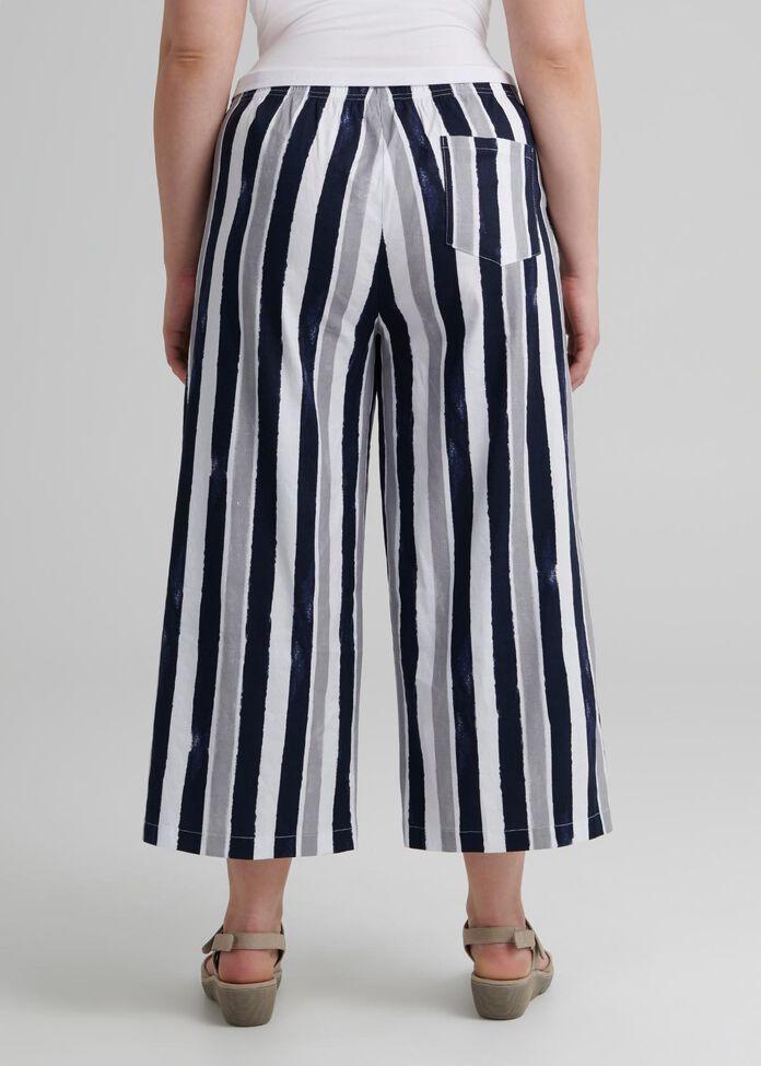 Linen Sea Gypsy Crop Pant, , hi-res