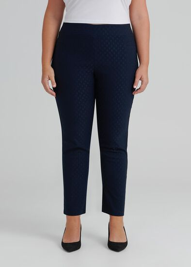 Embossed Court Pant
