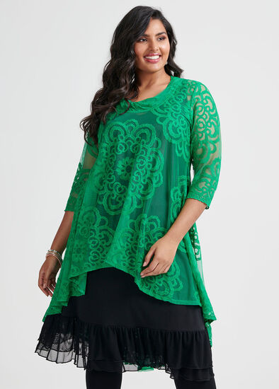 Green With Envy Tunic