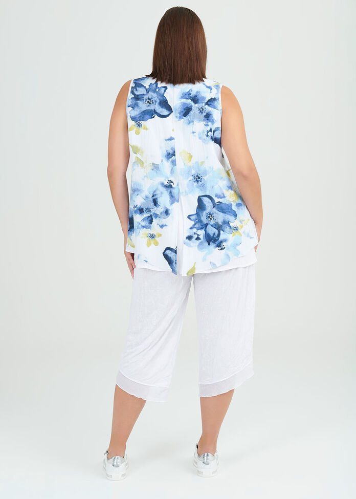 Celine Viscose Top, , hi-res