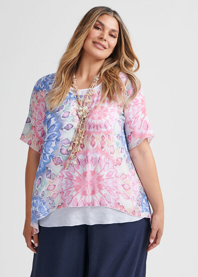 Horizon Layered Top