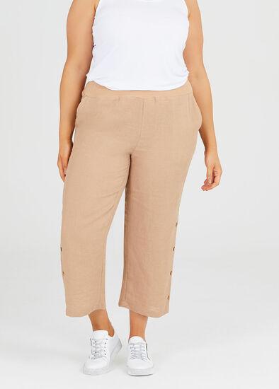 Drift Linen Crop Pant