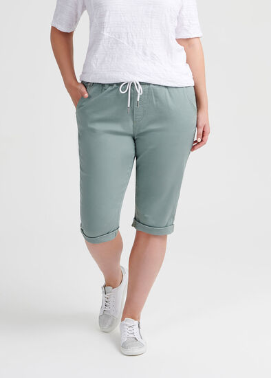 The Relaxed Crop Jogger