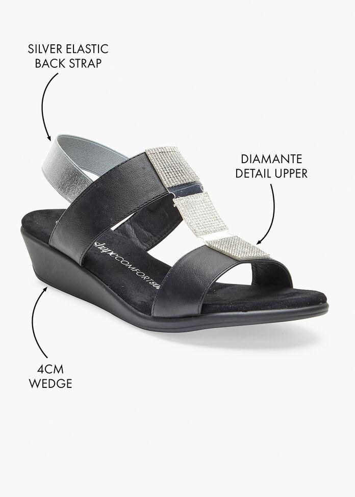 The Sleek Sandal, , hi-res