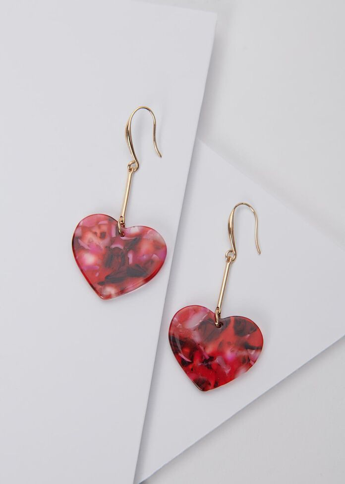 Pop Heart Earrings, , hi-res