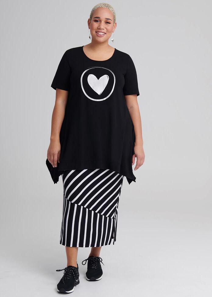 Stripey Days Skirt, , hi-res