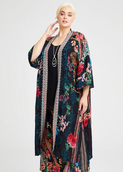 Natural Flower Power Kimono