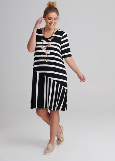 Follow Me Stripe Dress