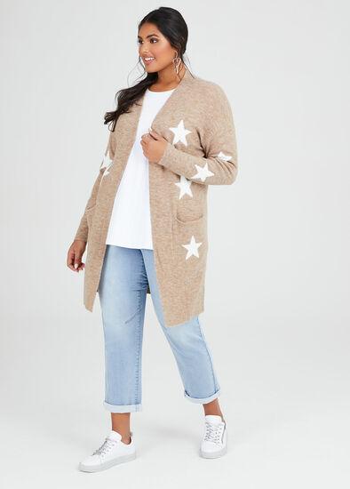 Cosy Star Knit Cardigan