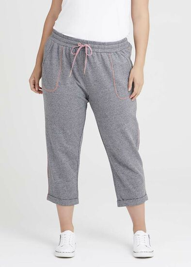 Cotton Relaxed Knit Jogger