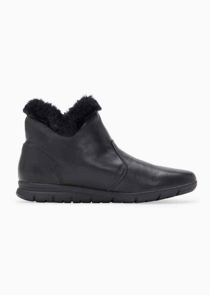 Luxe Leather Boot, , hi-res