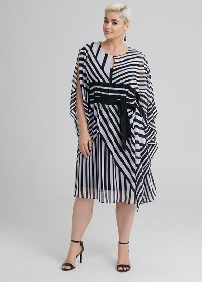 Oaks Stripe Kaftan