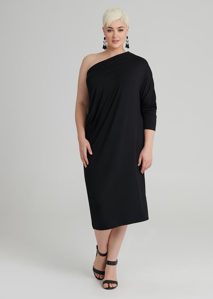Modal Frequency Dress, , hi-res