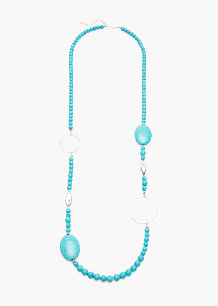 Turquoise Ring Necklace, , hi-res