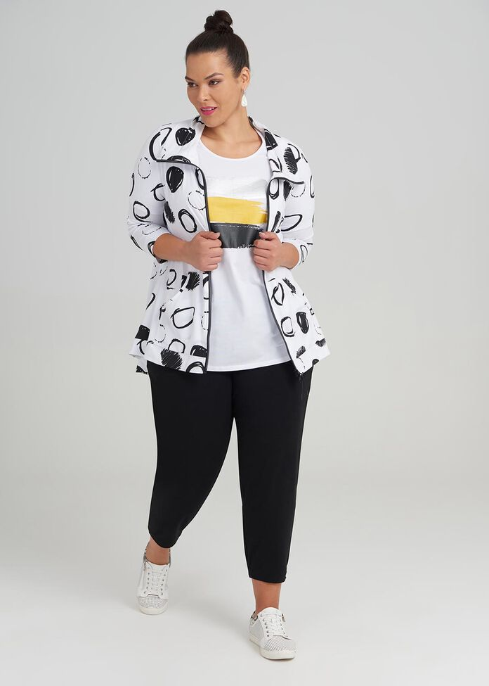 Cotton Elevate Spot Cardi, , hi-res