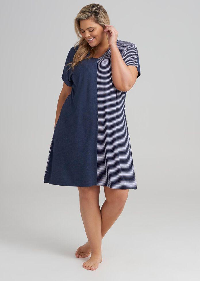 Splice Lounge Dress, , hi-res