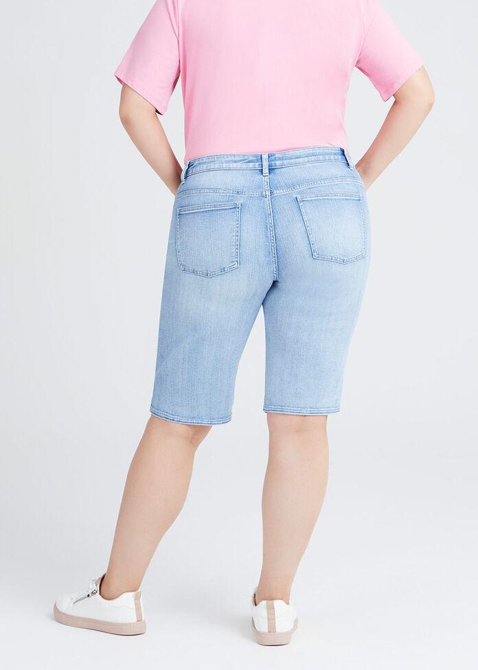 Coolmax Mom Denim Short, , hi-res