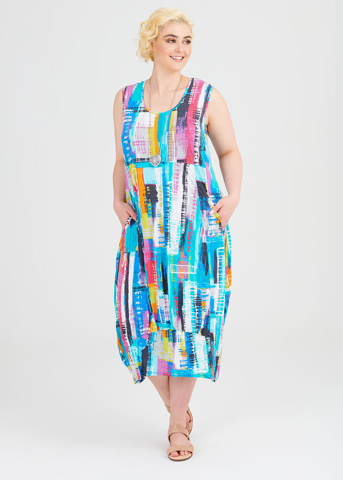 Prism Modal Dress, , hi-res