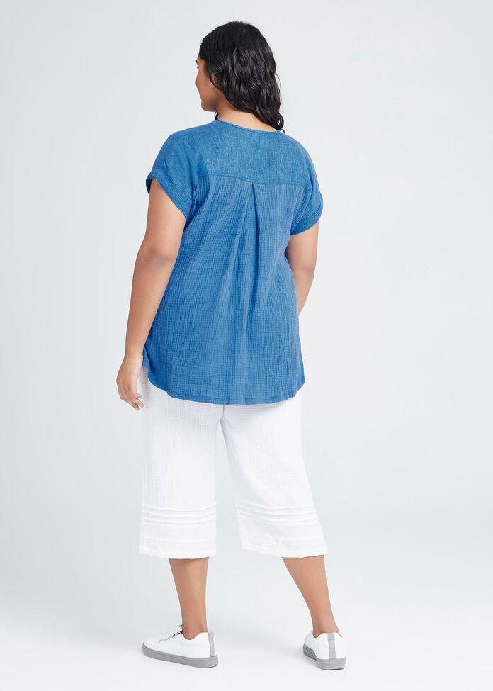 Cotton Bayside Top, , hi-res