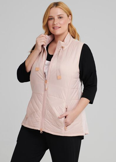 Quilted Active Vest
