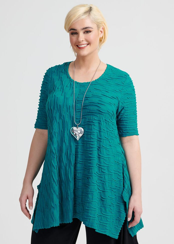 Nordic Short Sleeve Tunic, , hi-res