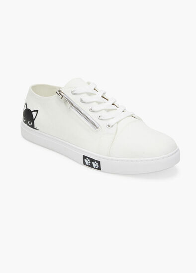 Kitty Bamboo Sneaker
