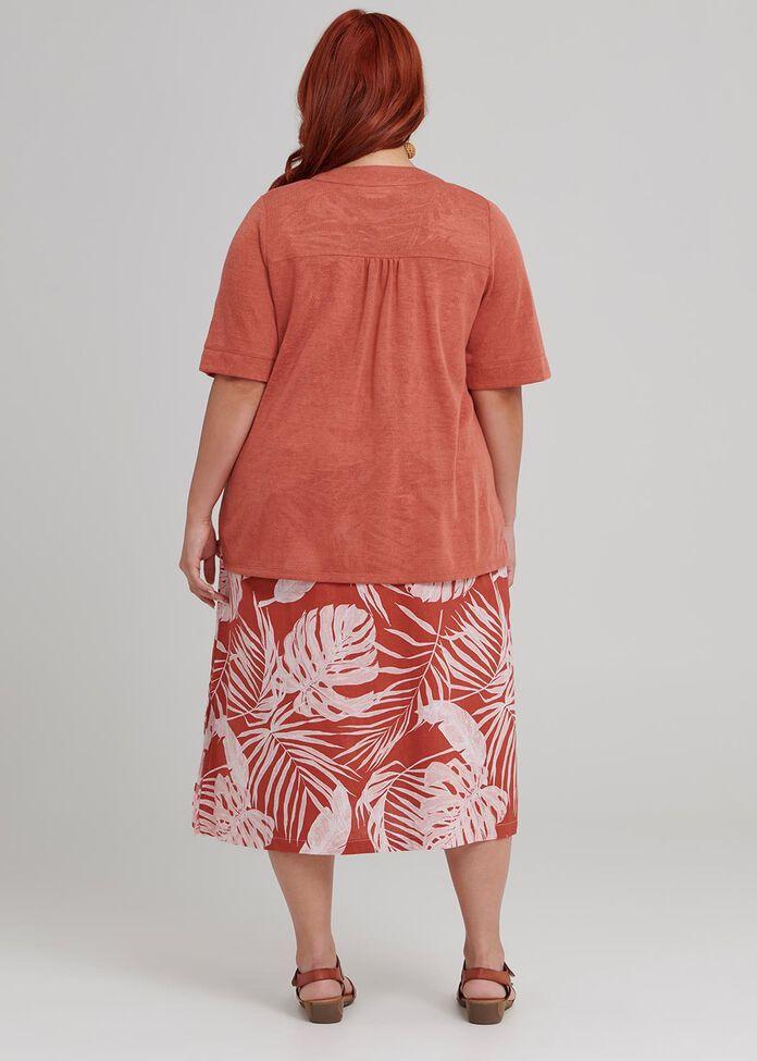 Knit Short Cardigan, , hi-res