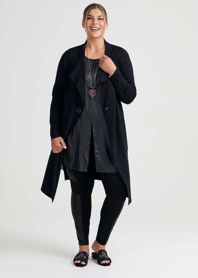 Tie Or Knot Tunic, , hi-res