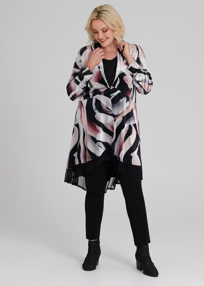 Girl About Town Cardi, , hi-res
