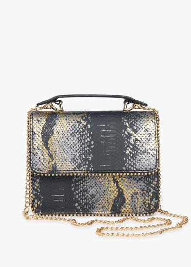 Stella Snake Metallic Bag