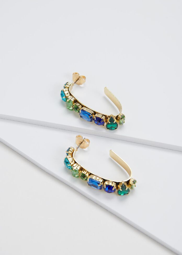 Daybreak Hoop Earrings, , hi-res