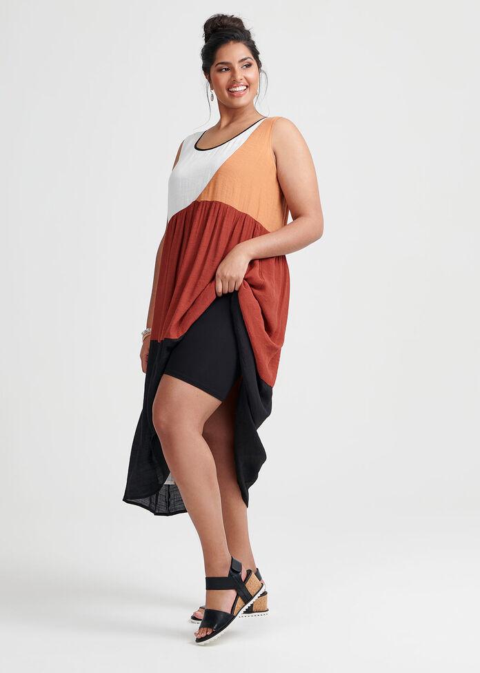 Spliced Spice Dress, , hi-res