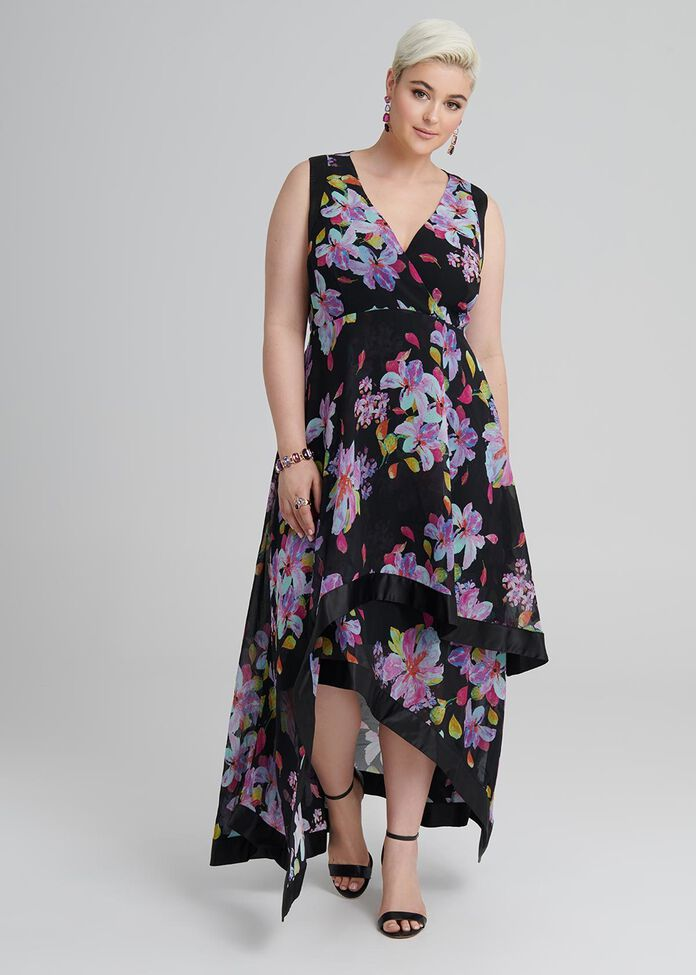 Jungle Floral Dress, , hi-res