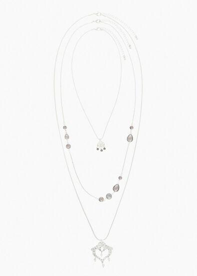 Aryn Crystal Necklace