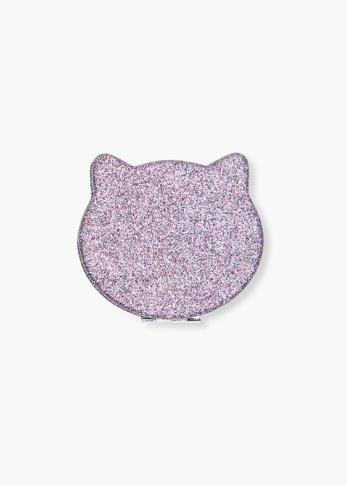 Cat Compact Mirror, , hi-res