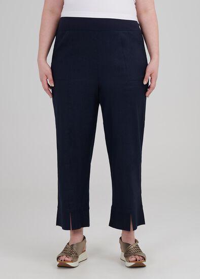 Tall Linen Oasis Crop Pant