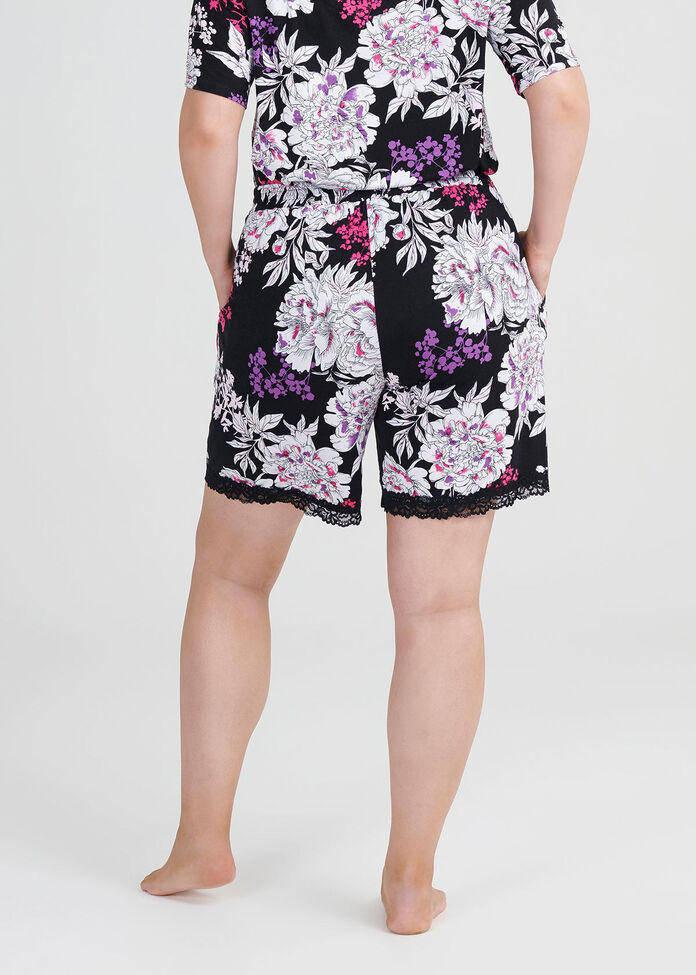 Bamboo Bouquet Pj Short, , hi-res