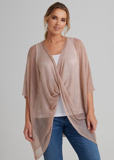 After Glow Twist Poncho