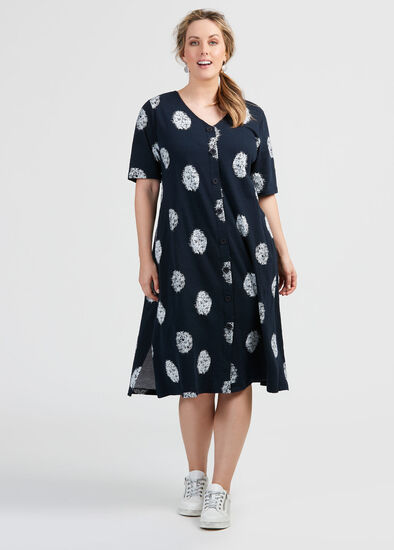 Cotton Ella Spot Dress