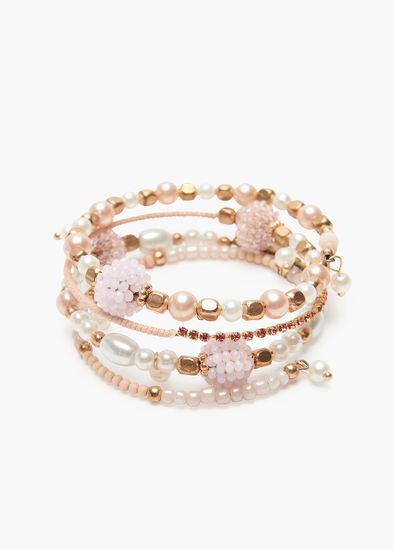 Blush Coil Bracelet