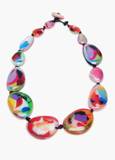 Paint Drop Necklace