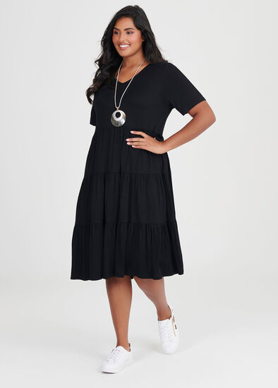 Bamboo Tiered Dress