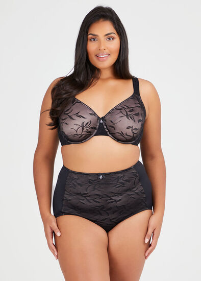 Smooth Lace Underwire Bra Sizes 14-18