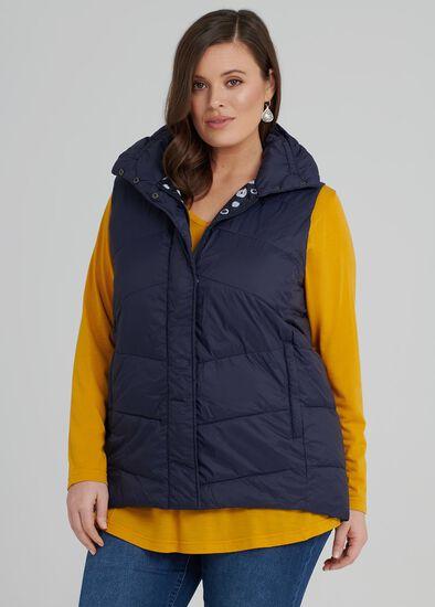 The Versatile Puffer Vest