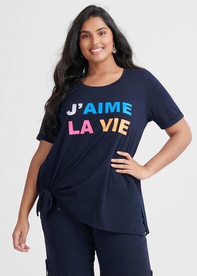Organic Jaime La Vie Top