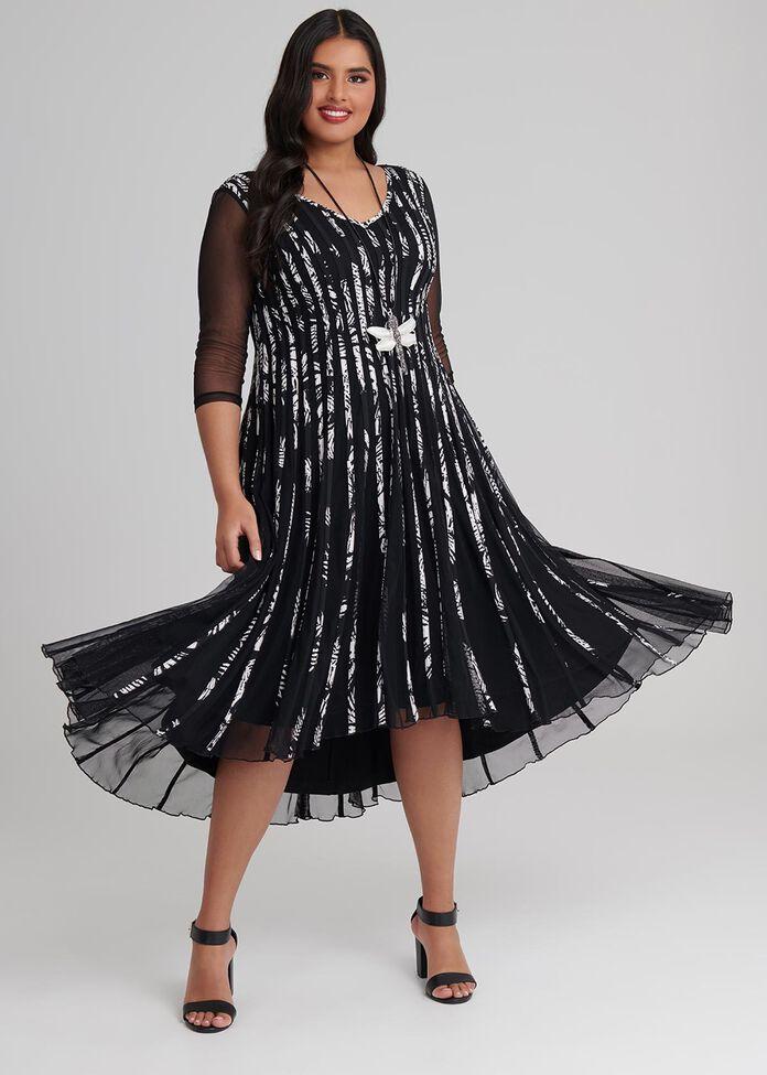 On The Line Dress, , hi-res