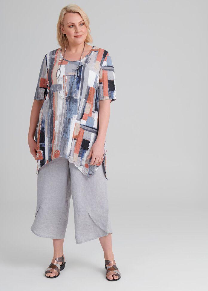 Samira Abstract Modal Top, , hi-res